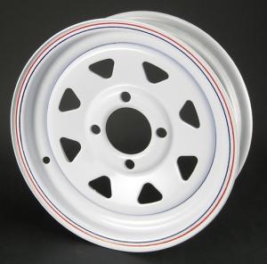 China la roue de remorque, roue d'atv, roue de caravane résidentielle, roue en acier, roue de golf, roue de rai, roue modulaire, galvanisent la roue, on sale