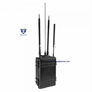 China Manpack Backpack Jammer RF Signal Intelligent Wide Frequency Manually Switch Control on sale