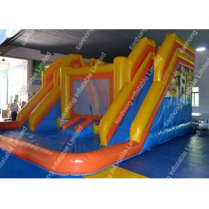 China Huge Inflatable little tikes Water Slides / Backyard water slide on sale