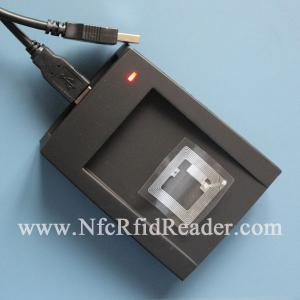 China ISO15693 Handheld NFC RFID Reader HF Window / Liunx / Android CR508DU on sale