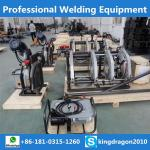 welding machine for welding of polyethylene pipes