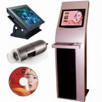 Skin facial scanner analyzer real analysis skin moisture analyzer machine Nubway