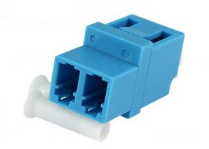 China Duplex Ceramic Sleeve Optic Fiber Adapter High-Low type For FTTH / Passive Equipment on sale