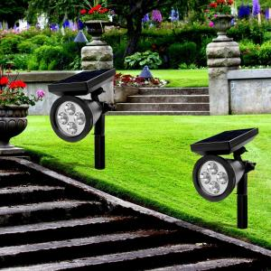 China 180° IP44 LED Solar Spotlight , Solar Powered Spotlight Outdoor on sale