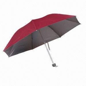 China Compact Purse Folding Rain Umbrella, Suitable for Men, Kids and Women on sale