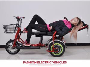 China old man  electric car Folding the elderly three round electric car  Net weight 50kg 30-50KM/h Two Seat 500w on sale