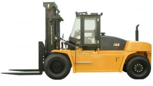 China 16 Ton Loading Diesel Pallet Forklift Truck Moving Cargo With Cummins Engine on sale