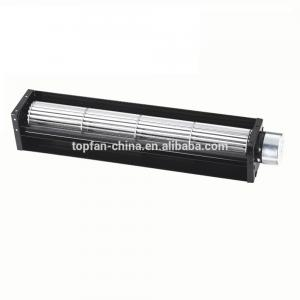 China Metal Frame 3000RPM DC Cross Flow Blower For Fireplace on sale