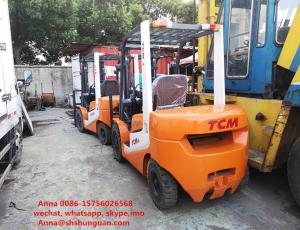 China 3000 Kg Loading Capacity Used Diesel Forklift Truck Excellent Working Condition on sale