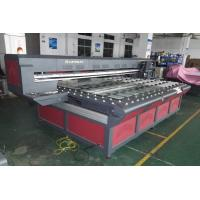 China Large Inkjet UV Flatbed Printer, Wide Format Commercial Printers Max.100MM Print Height on sale