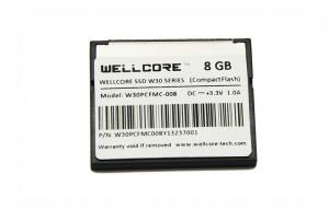 China Wellcore 8GB Compactflash Memory Card For Camera , 1100X / 165MB/s on sale