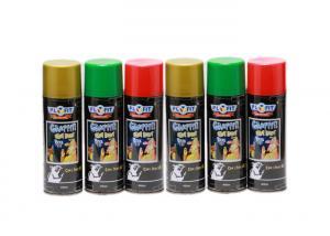 China Alcoholic Based Graffiti Art Colorful Spray Paint 400ml Liquid Coating State on sale