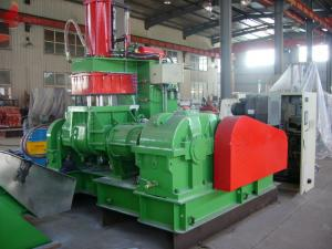 China Small Temperature Difference Back Feed banbury mixer 110KW-6P Shear Rotor NL-75L on sale