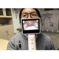 Handheld Throat Endscope Digital Laryngoscope Micro SD Card With 3.5 Inch LCD Screen