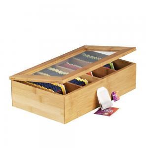 China wholesale wooden tea box bamboo gift box on sale