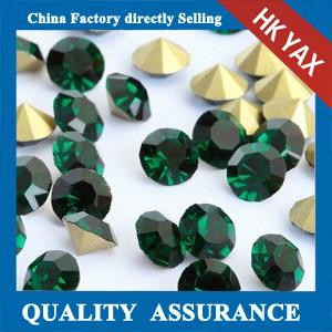 China YAX Fashion Fancy Strass Beads Point Back Beads Stones Shiny Colorful Beads for Bags on sale