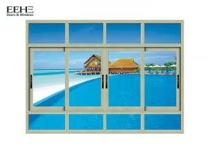 China Safety Aluminum Sliding Glass Windows For High Level Buildings on sale