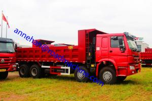 China 12 Tires Heavy Duty Dump Truck 8x4 25m3 for 50T Sand Load And Mine Project on sale