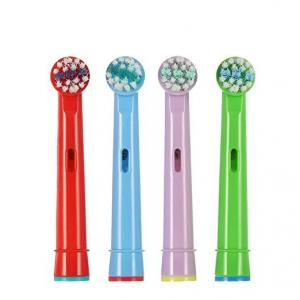 China EB-10A Sonicare Oral B Kids Electric Toothbrush Replacement Heads 0.12mm Diameter Soft Bristles on sale