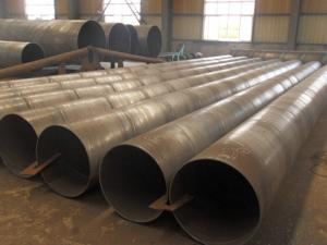 China API 5L Hot Dip Galvanized Spiral Steel Pipe For Gas Line , Anti-Corrosion Pipe on sale