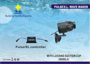 China 42W UL Auto Feeding-support Aquarium Wave Maker With Suction Up Bracket, Magnetic Bracket on sale