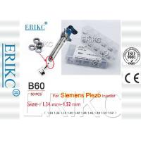 ERIKC Valve Spring Shim B60 siemens injector adjusting shim B60 adjustable shim set Size 1.34-1.52 mm