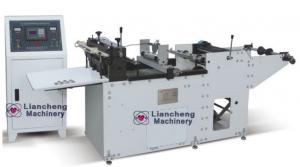 China LC-350C High speed cutting machine printed film, shrink film, battery label, bottle label, on sale