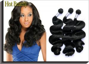 China Hot Beauty Peruvian Natural Wave Virgin Human Hair Extensions For Women on sale