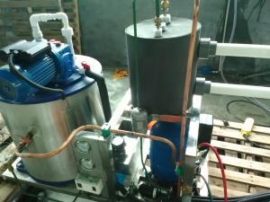 China Industrial ice machine on sale