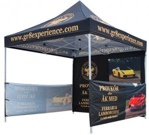 China Waterproof Advertising Canopy Tents, Hexagonal Steel Frame Outdoor Canopy Tent on sale