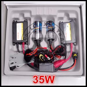 China 35W 12V DC super bright HID conversion kit 6000K H1 H3 H7 H11 auto Xenon light on sale