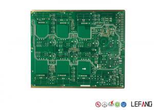 China Immersion Gold Multilayer PCB Board For Vehicle Green Solder Mask OEM & ODM on sale