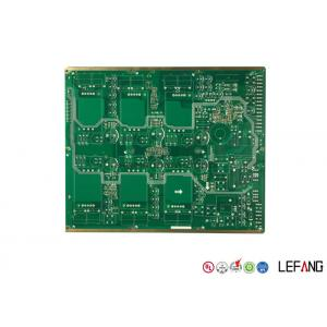 China Immersion Gold Multilayer PCB Board For Vehicle Green Solder Mask OEM & ODM on sale