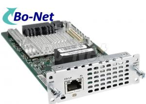 China NIM 1MFT T1 E1 Cisco Router Interface Cards , Fourth Generation Cisco Ethernet Module on sale