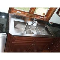 Custom Stainless Steel Parts Metal Kitchen Sink , Stainless Steel Fabrication For Household Tool