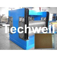 China Color Steel Embossing Machine For Garage Door, Refrigerator, Decorative Materials on sale