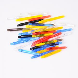 Quality 48mm, 41mm, 35mm Plastic Dart Shafts, Dart stems in Various colors for sale
