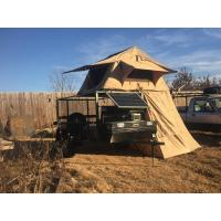 Water Resistant 4x4 Roof Top Tent Easy Operate With Side Awning CE Certificated