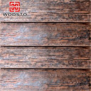 China Artificial Cement Wood Panel with Stable Physical Properies on sale