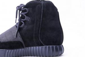 f6cc8f6c ... Quality Adidas Yeezy 750 Boost Kanye West Pirate Triple Black Suede BB1839  Real Boost for sale ...