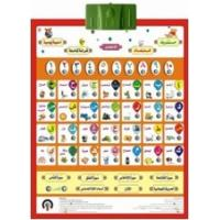 Preschool children Education learning Arabic Alphabet Chart Learning with Fun