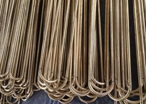 China C68700 Aluminum Brass Seamless Tube U Bend Pipe Heat Exchanger on sale