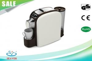 China Semi Automatic Plastic ESE Coffee Pod Machines , Pod Coffee Makers With Water Reservoirs with customized color on sale