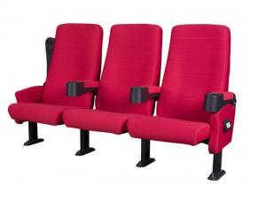 China Easy Cleaning Cinema Chairs Furniture Easy Installation ABS Plastic Shell on sale
