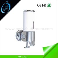 China deluxe wall mounted manual soap dispenser for hotel on sale