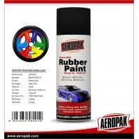 China AEROPAK 400ml Rubber Paint for car color change on sale