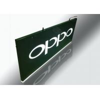 Hanging Light Box Signs , Lighted Outdoor Signs With Cutout Illuminated Letter
