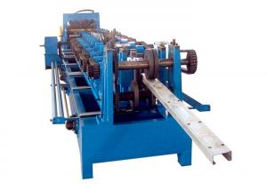 China Hydraulic Automatic C U Z Purlin Making Machine 1.5 - 3.0mm Thickness on sale