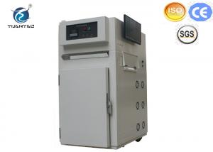 China Mini high temperature 400 degree Hot air circulation laboratory drying oven with computer control on sale