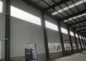 Quality Metallic Structural Steel Workshop Wide Span Earthquake Resistance Water for sale